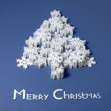 Nytt handgjorda år och glad julkort Royaltyfri Foto