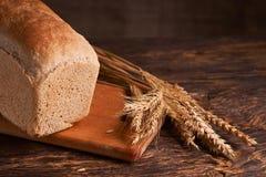 nytt hemlagat för bröd chip Bröd på surdeg Osyrat bröd dietary bröd royaltyfria foton