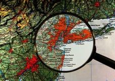 nytt hjälpmedel under den york zoomen Arkivbilder