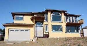 nytt hus Arkivfoto