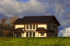 nytt hus arkivbild