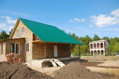 nytt hus Royaltyfri Bild