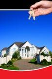 nytt hus Royaltyfri Fotografi