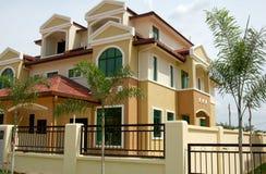 nytt hus Royaltyfria Foton