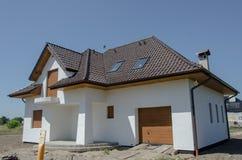 nytt hus Royaltyfria Bilder