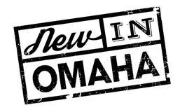 Nytt i Omaha den rubber stämpeln Arkivbilder