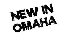 Nytt i Omaha den rubber stämpeln Fotografering för Bildbyråer