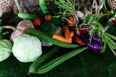 Nytt inkludera grönsaker arkivfoto