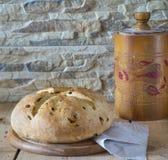 Nytt italienskt bröd Royaltyfri Fotografi
