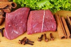 Nytt kött Arkivfoton