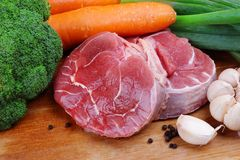 Nytt kött Arkivfoto