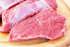 Nytt kalvkött Fotografering för Bildbyråer