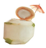 Nytt kokosnötvatten Arkivfoto