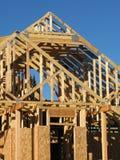 nytt konstruktionshus Royaltyfri Bild