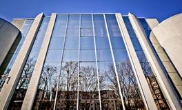 nytt kontor för byggnadsaffärsmitt Royaltyfri Foto