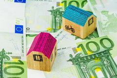 nytt köpande hus Arkivbild