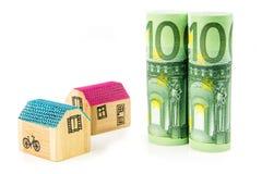 nytt köpande hus Arkivbilder