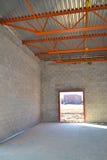 nytt lager för byggnadskonstruktion Arkivfoton