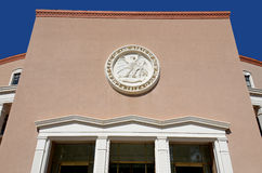 Nytt - Mexiko statKapitolium, Royaltyfri Fotografi