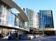 Nytt modernt område i Milan Royaltyfri Bild