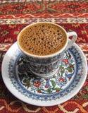 Nytt och deliciousTurkish kaffe Arkivfoton
