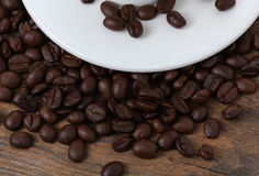 Nytt och grillat kaffe Royaltyfria Foton