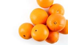 nytt orange moget Arkivfoto
