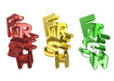 nytt ord 3D - Royaltyfri Bild