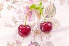 nytt organiskt för Cherry Arkivfoton