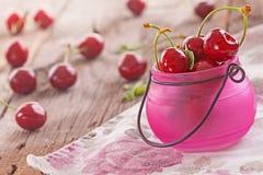 nytt organiskt för Cherry Arkivbilder