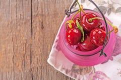 nytt organiskt för Cherry Royaltyfri Bild