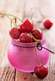 nytt organiskt för Cherry Royaltyfri Fotografi