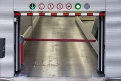 Nytt parkera garage Royaltyfri Foto