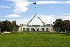 Nytt parlamenthus, Canberra, Australien Arkivbild