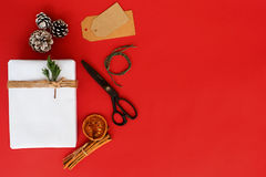 nytt presentsår för jul arkivbild