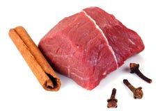Nytt rått kött Arkivbild