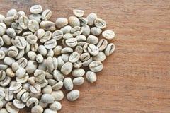 Nytt rått kaffe royaltyfri foto