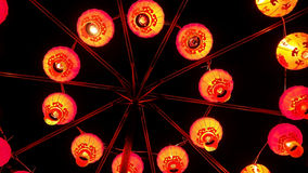 nytt rött år för kinesiska lyktor kinesisk lykta Royaltyfri Foto
