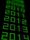 Nytt år 2013 Arkivfoto