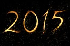 Nytt år 2015 Royaltyfria Bilder