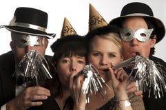 nytt år för beröm Royaltyfri Foto