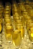 nytt år för champange Arkivbilder