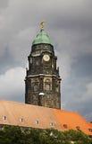 Nytt radhus i Dresden germany Arkivbilder