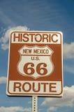 nytt routetecken för 66 mexico Royaltyfri Foto