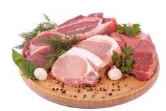 Nytt rått kött Royaltyfria Foton