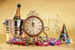 nytt s år för berömhelgdagsafton Royaltyfria Bilder