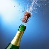 nytt s år för champagne royaltyfria foton