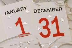nytt s år för helgdagsafton Arkivbilder