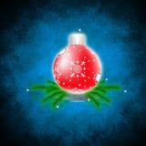 nytt s år för jul Fotografering för Bildbyråer