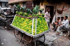 nytt sammanpressade fruktsaftar Arkivbild